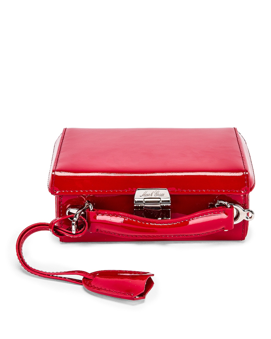Image 1 of Mark Cross Grace Mini Box Bag in Red