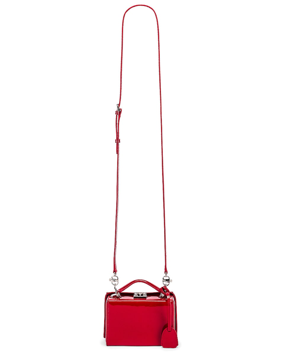 Image 5 of Mark Cross Grace Mini Box Bag in Red