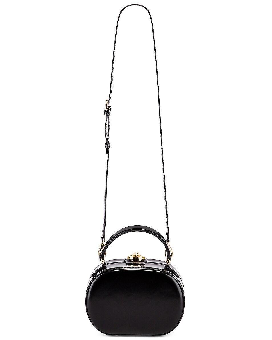 Image 6 of Mark Cross Gianna Oval Box Bag in Black