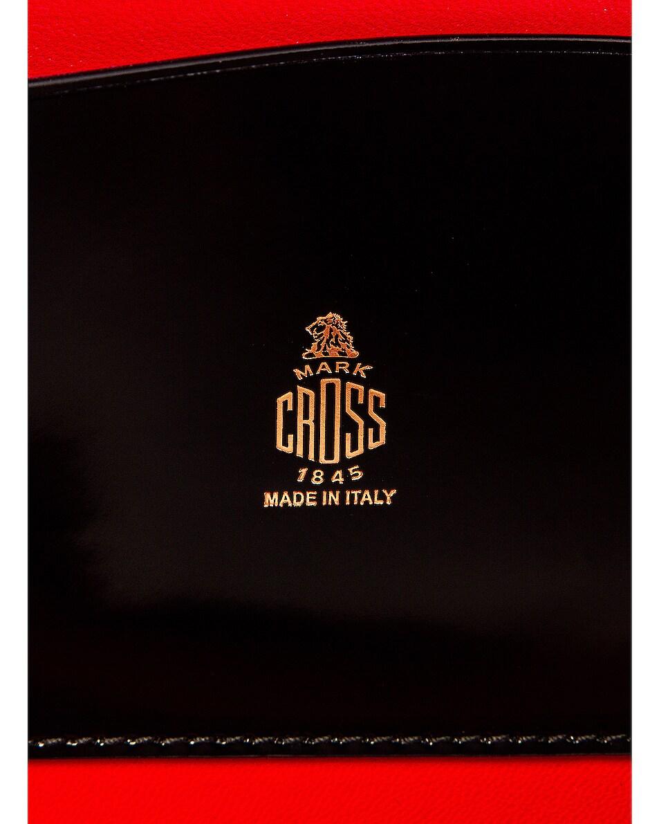 Image 7 of Mark Cross Gianna Oval Box Bag in Black