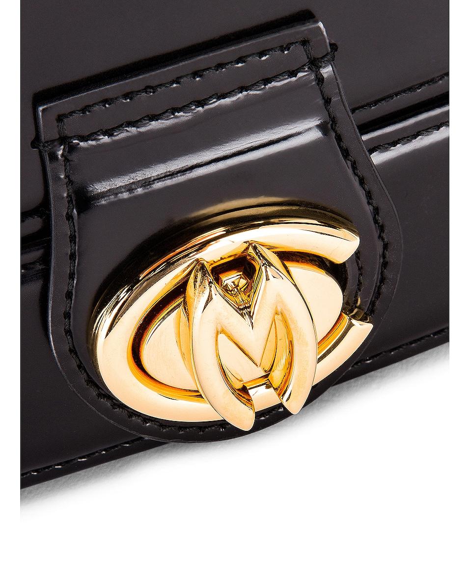 Image 8 of Mark Cross Gianna Oval Box Bag in Black