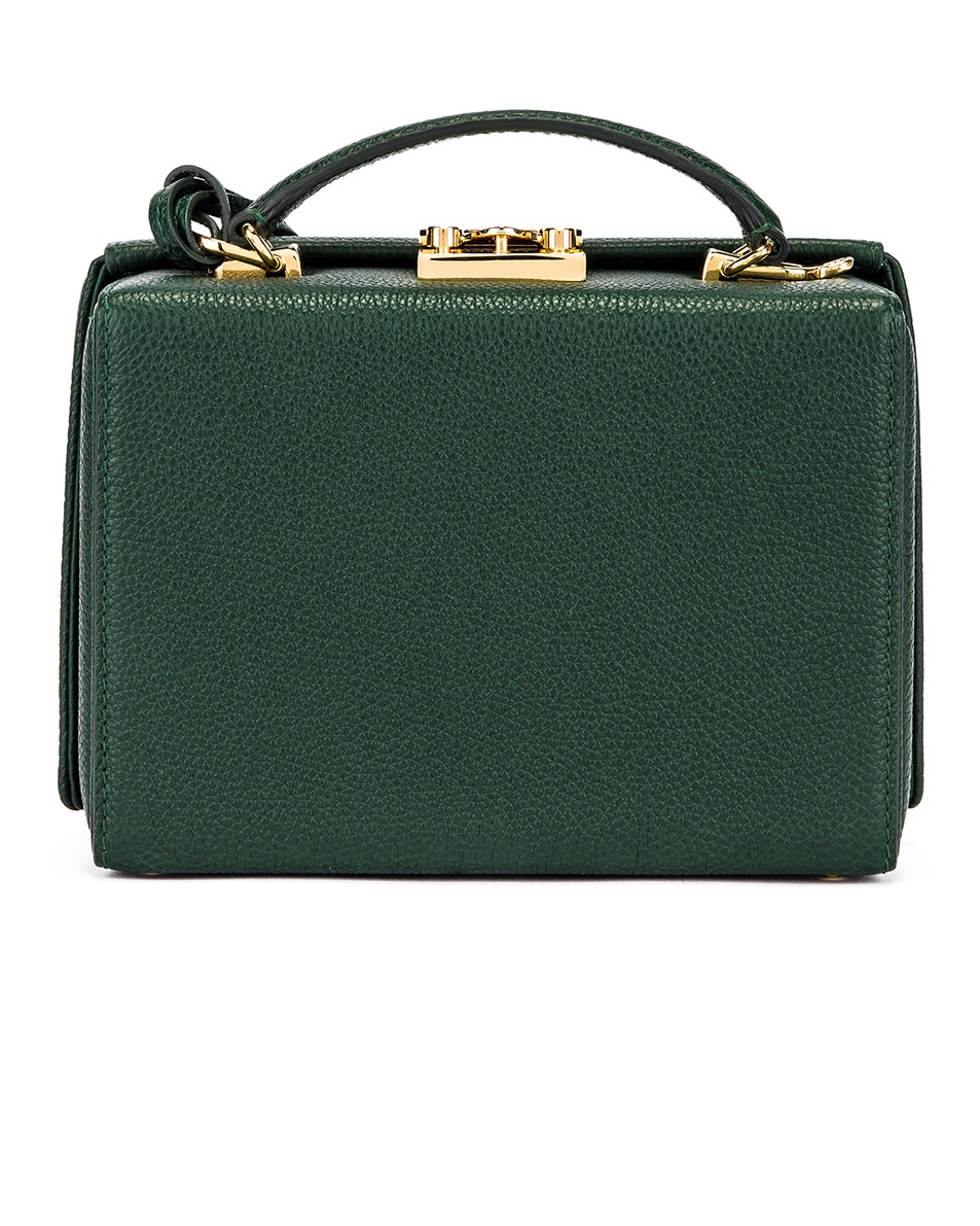 Image 3 of Mark Cross Grace Small Box Bag in Evergreen