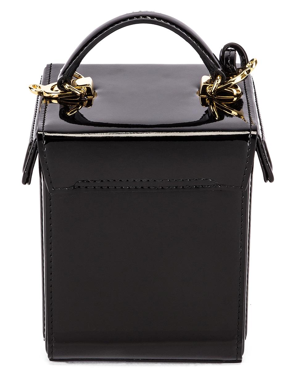 Image 3 of Mark Cross Grace Cube Bag in Black