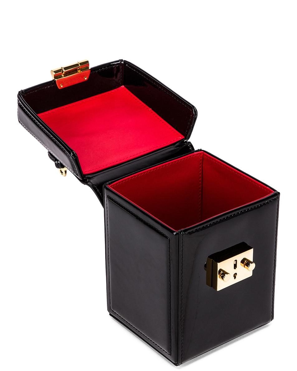 Image 5 of Mark Cross Grace Cube Bag in Black
