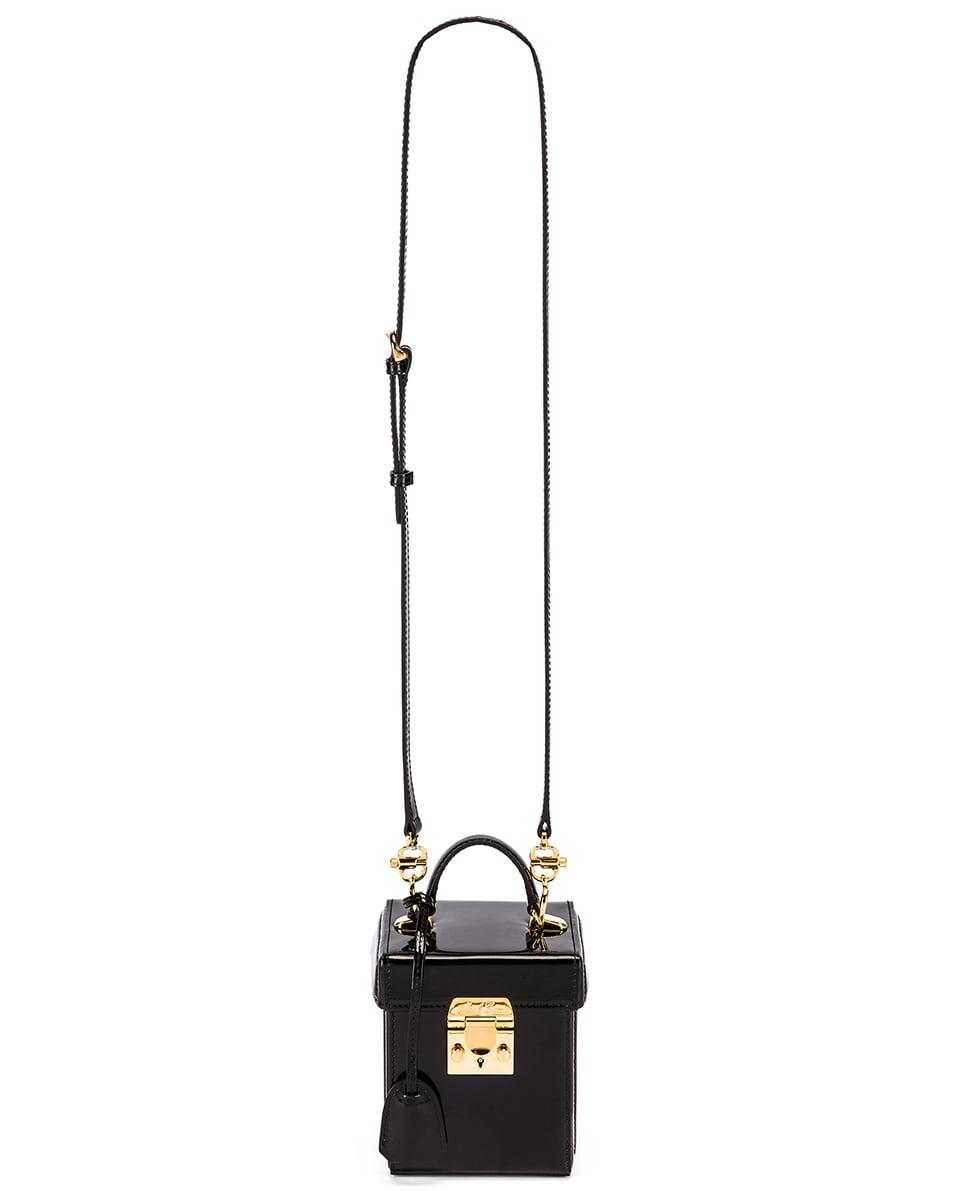 Image 6 of Mark Cross Grace Cube Bag in Black