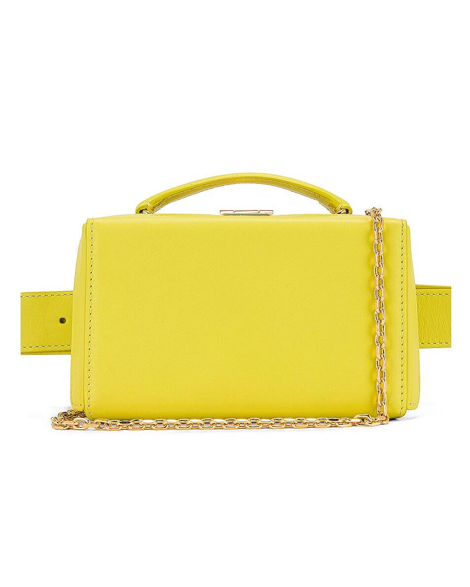 Image 1 of Mark Cross Grace Belt Bag in Citron