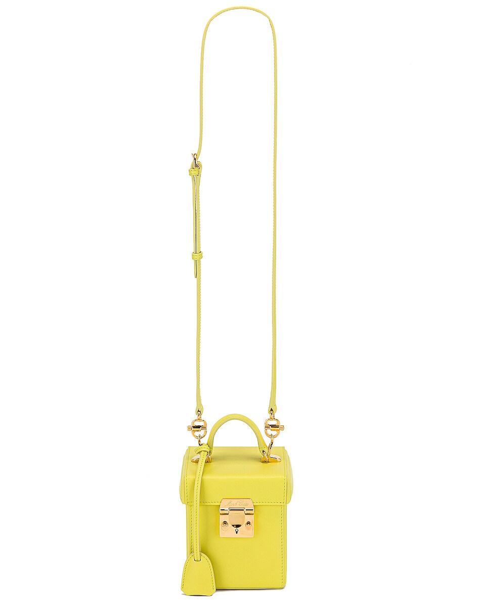 Image 6 of Mark Cross Grace Cube Bag in Citron