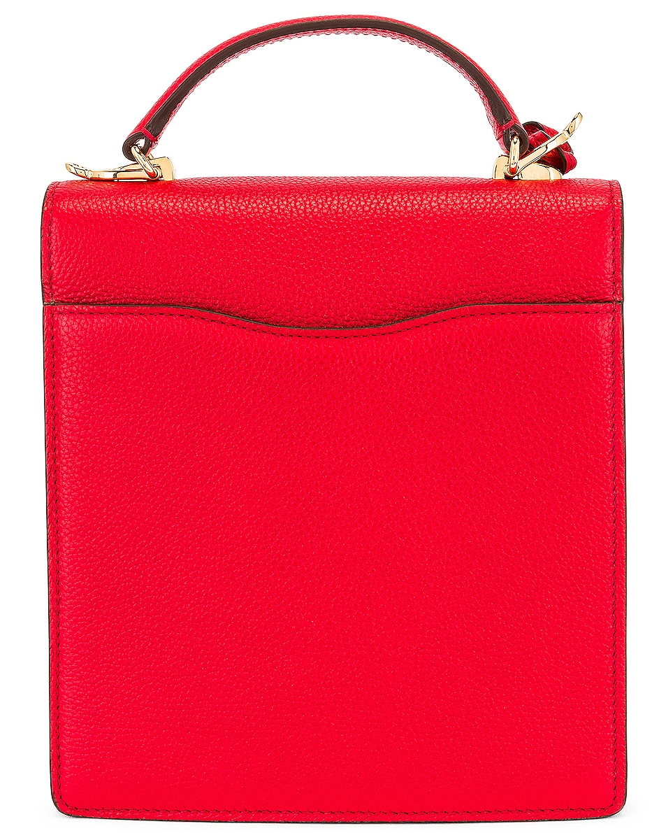 Image 3 of Mark Cross Uptown Bag in Red