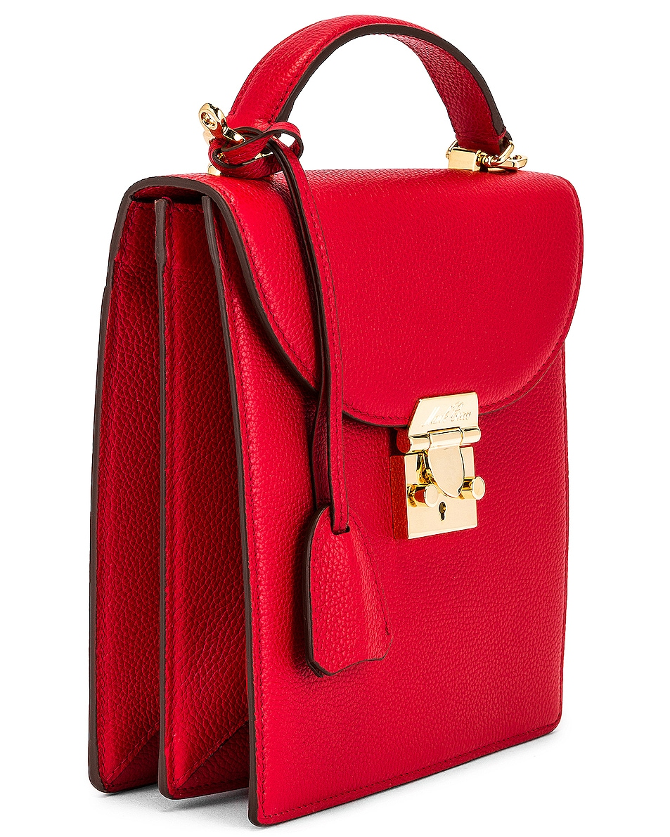 Image 4 of Mark Cross Uptown Bag in Red