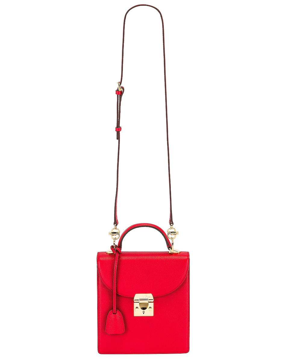 Image 6 of Mark Cross Uptown Bag in Red