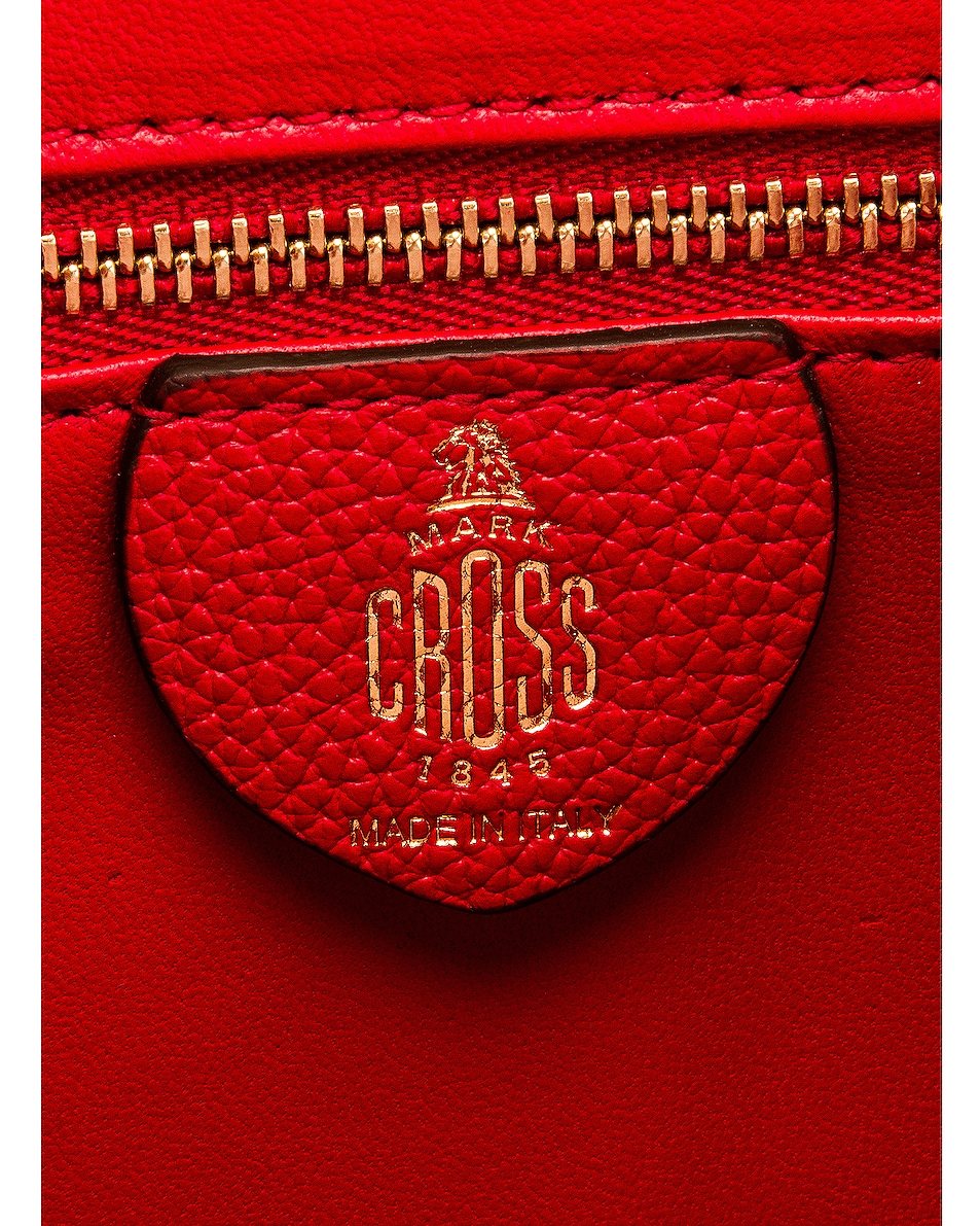 Image 7 of Mark Cross Uptown Bag in Red