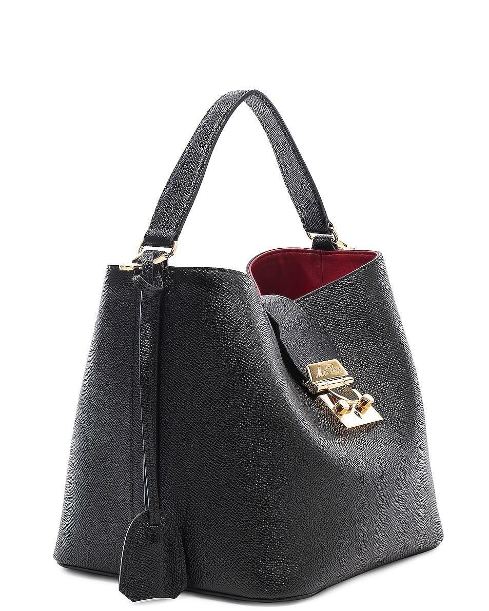 Image 4 of Mark Cross Murphy Small Bucket Bag in Black