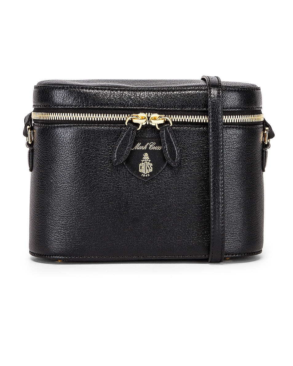 Image 1 of Mark Cross Ginny Bag in Black
