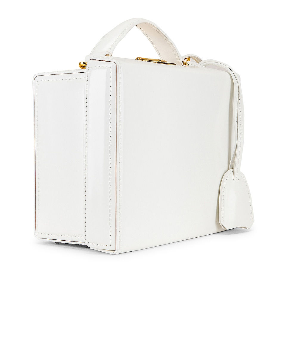Image 4 of Mark Cross Grace Small Box Bag in White