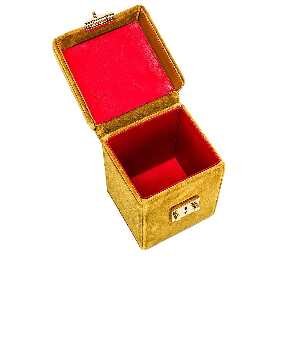 Image 5 of Mark Cross Grace Cube Bag in Gold