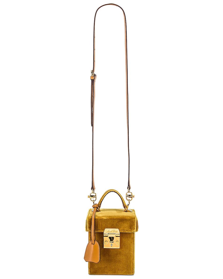 Image 6 of Mark Cross Grace Cube Bag in Gold
