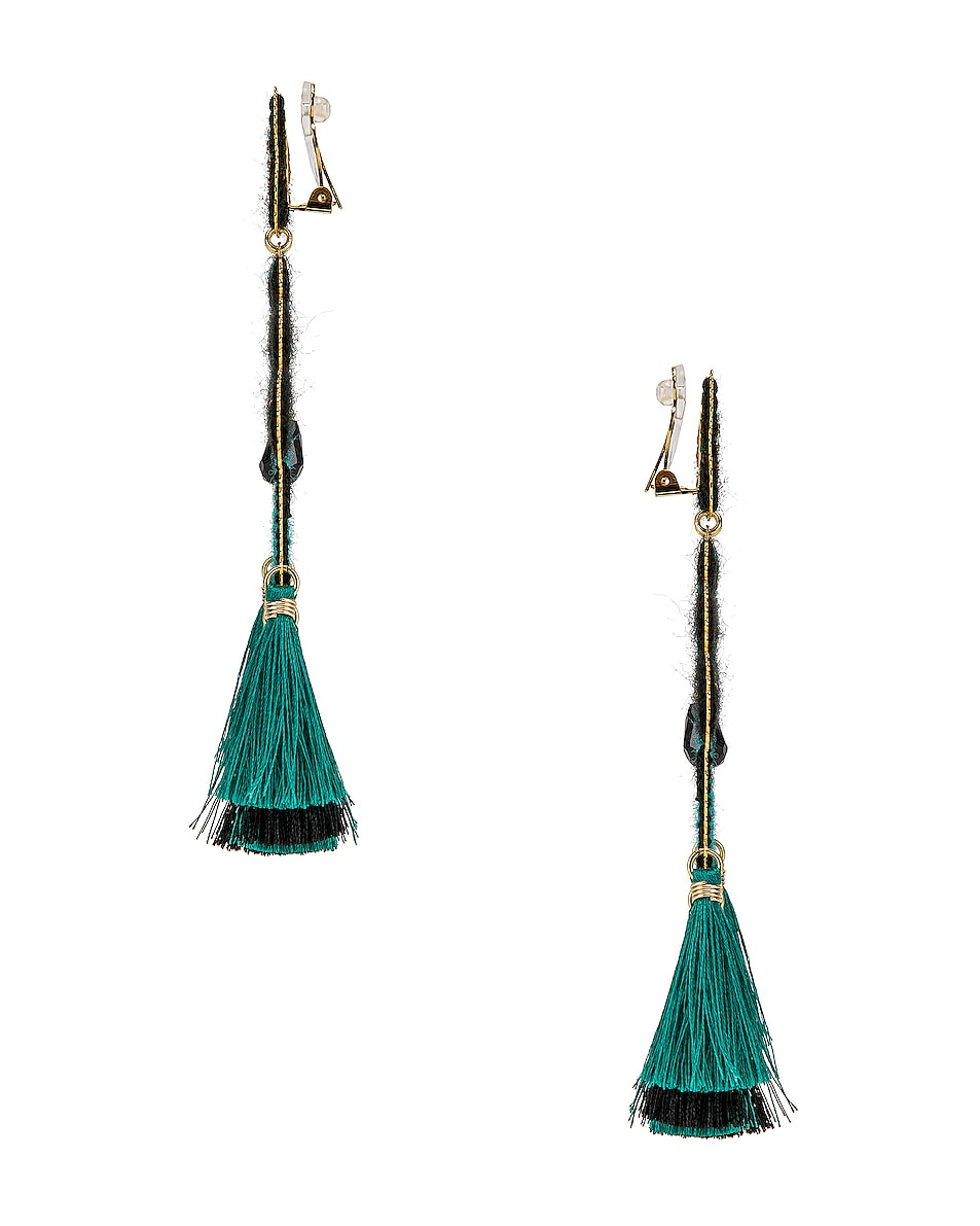 Image 3 of Mercedes Salazar Curubas Earrings in Turquoise
