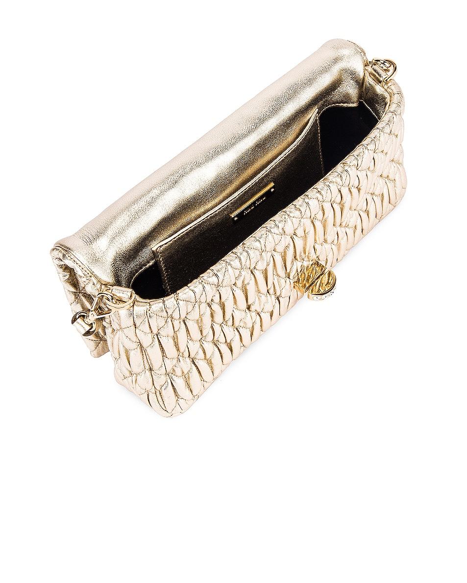 Image 5 of Miu Miu Crystal Chain Bag in Gold