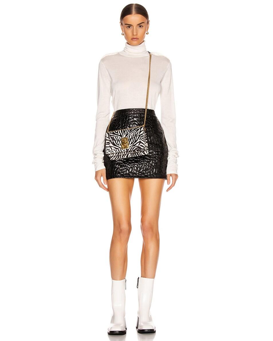 Image 2 of Miu Miu Zebra Bag in White & Black