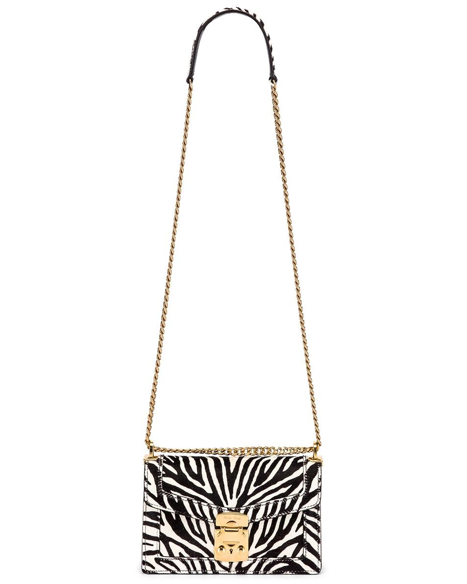 Image 6 of Miu Miu Zebra Bag in White & Black