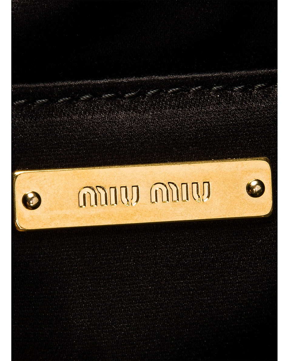 Image 6 of Miu Miu Camouflage Pouch Bag in Militaire