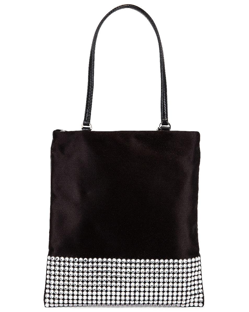 Image 3 of Miu Miu Starlight Shoulder Bag in Black