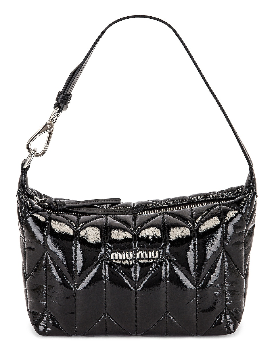 Image 1 of Miu Miu Contenitori Shoulder Bag in Nero