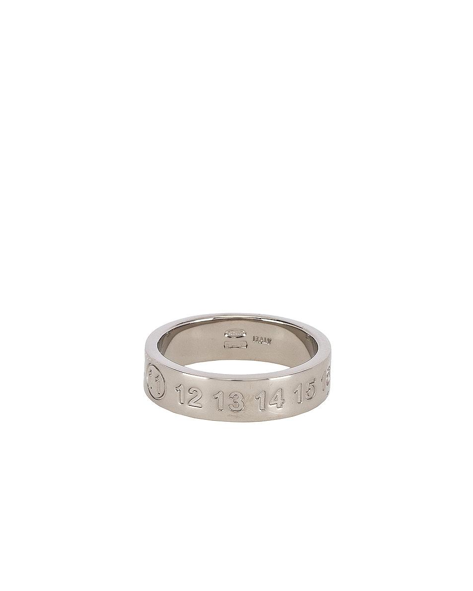 Image 1 of Maison Margiela Ring in Palladium