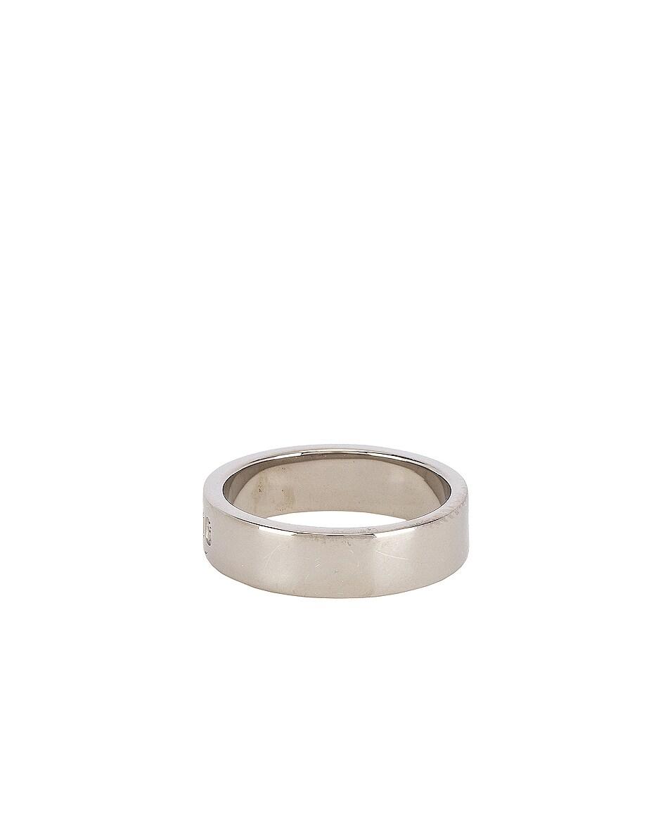 Image 3 of Maison Margiela Ring in Palladium