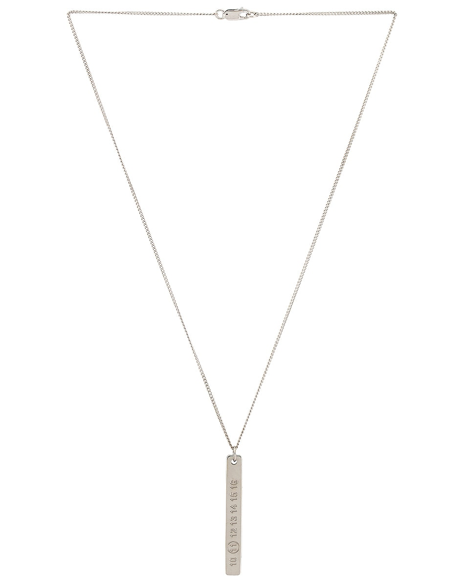Image 2 of Maison Margiela Necklace in Silver