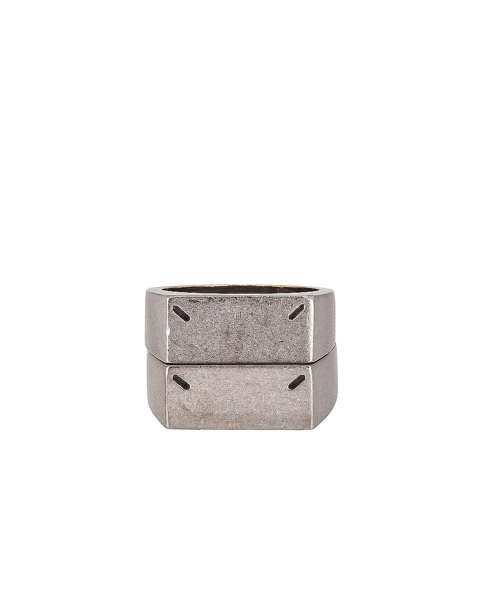 Image 1 of Maison Margiela Ring in Palladio Polished