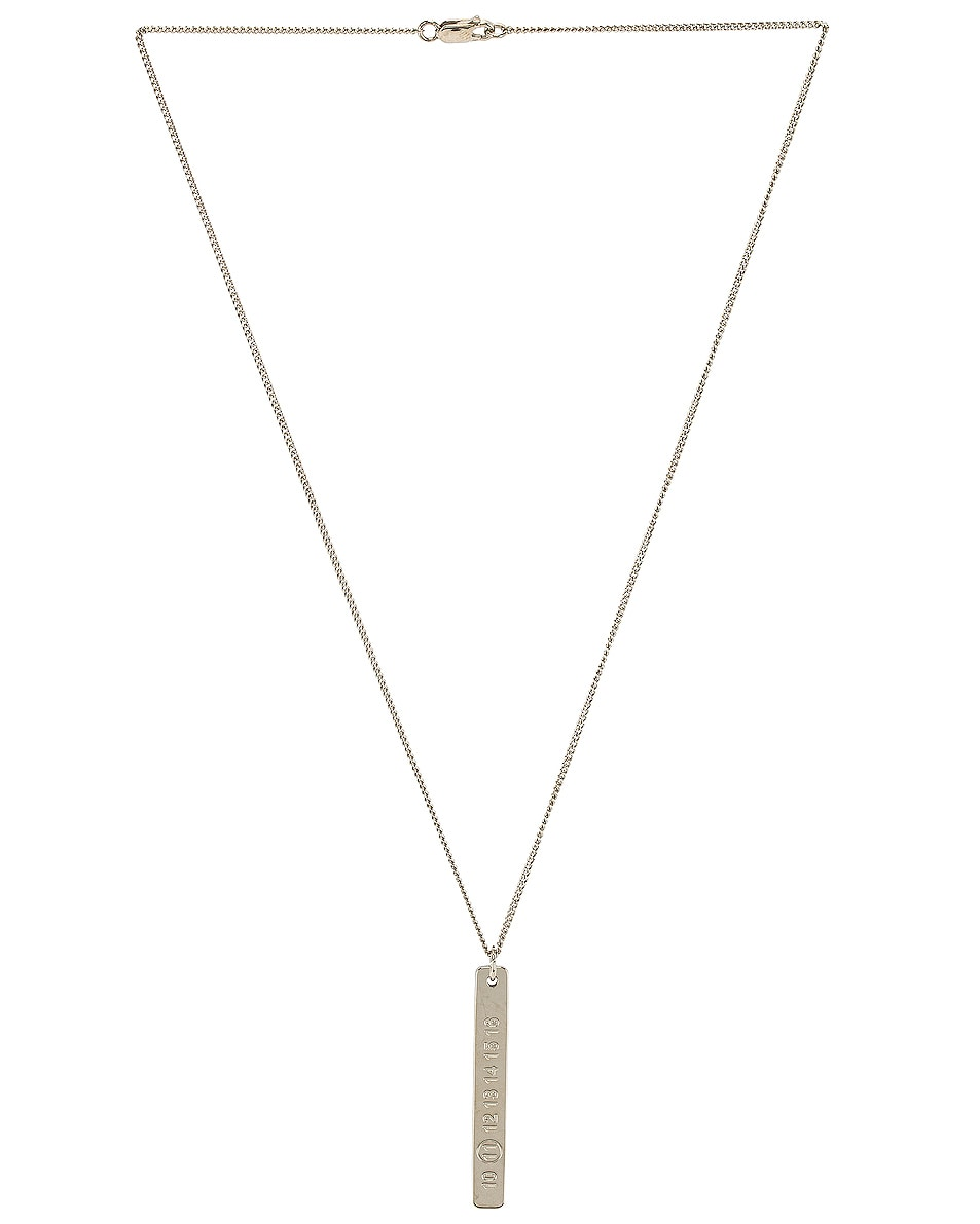 Image 1 of Maison Margiela Necklace in Palladio Polished