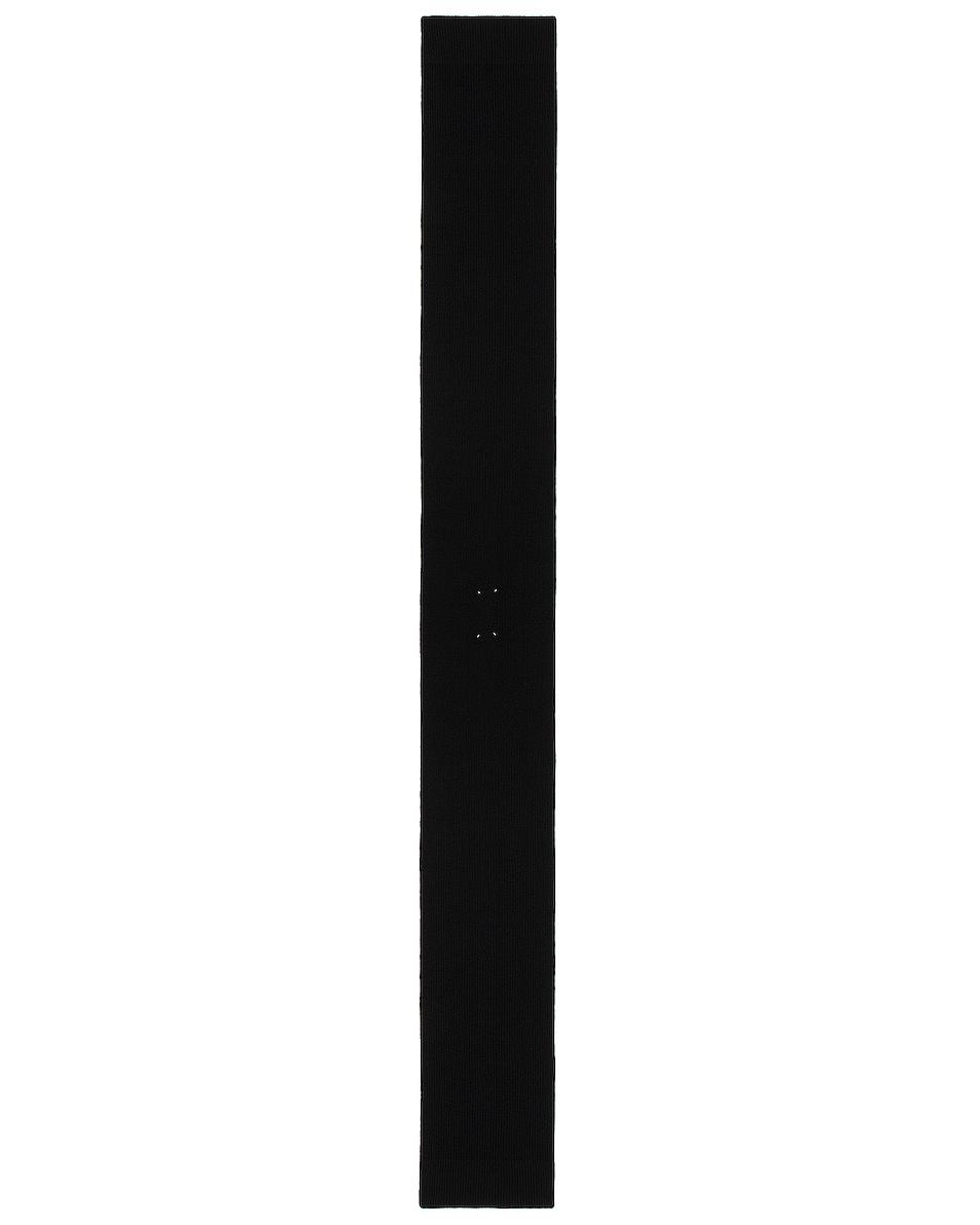 Image 1 of Maison Margiela Scarf in Black