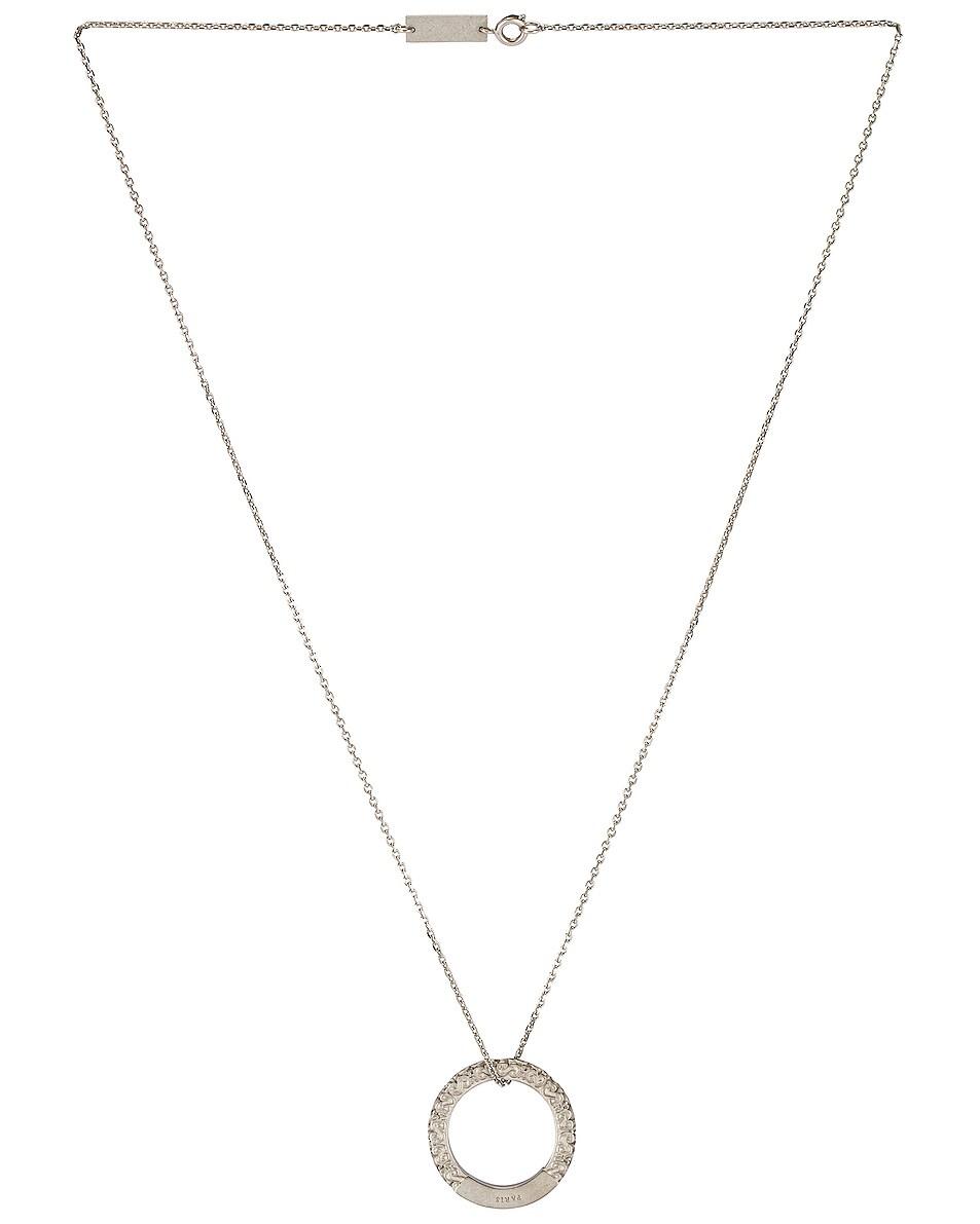 Image 1 of Maison Margiela Ring Necklace in Palladio