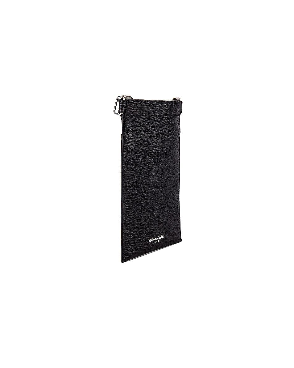 Image 4 of Maison Margiela Neck Wallet in Black