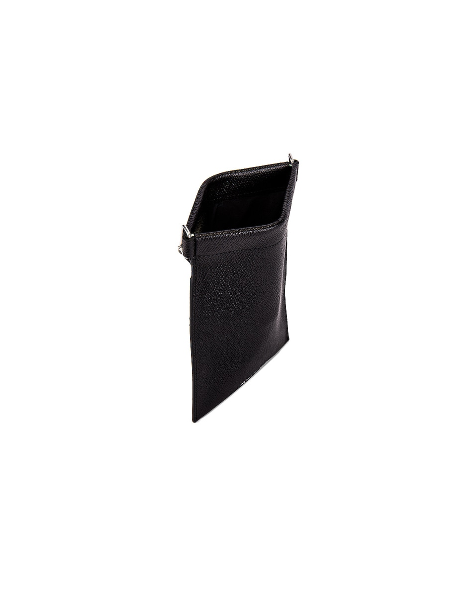 Image 5 of Maison Margiela Neck Wallet in Black
