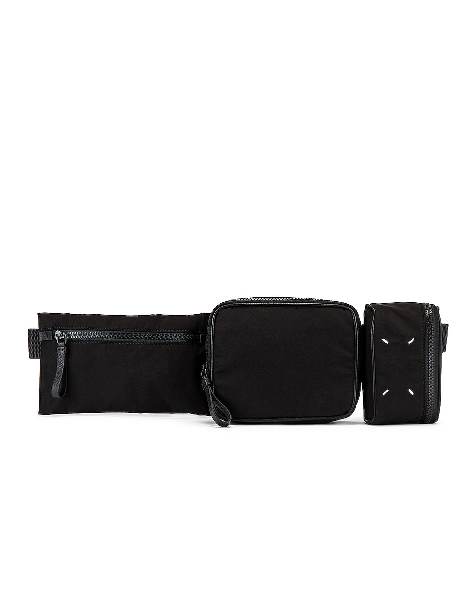 Image 1 of Maison Margiela Belt Bag in Black