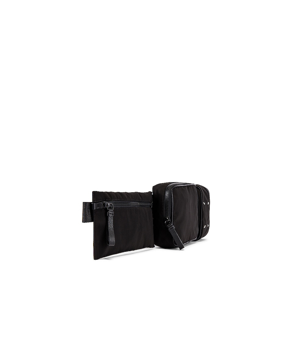 Image 3 of Maison Margiela Belt Bag in Black