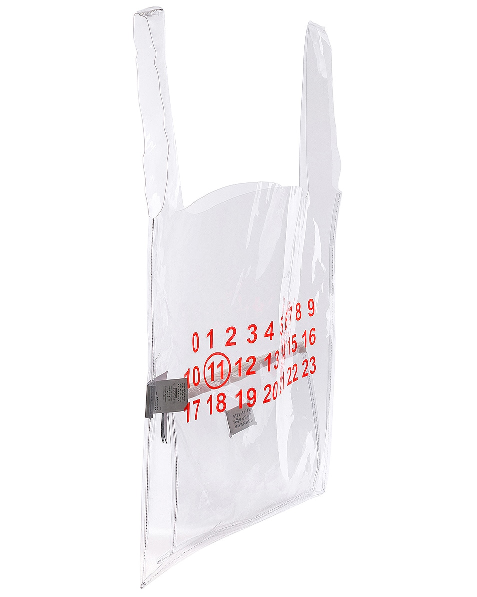 Image 4 of Maison Margiela Tote in Transparent