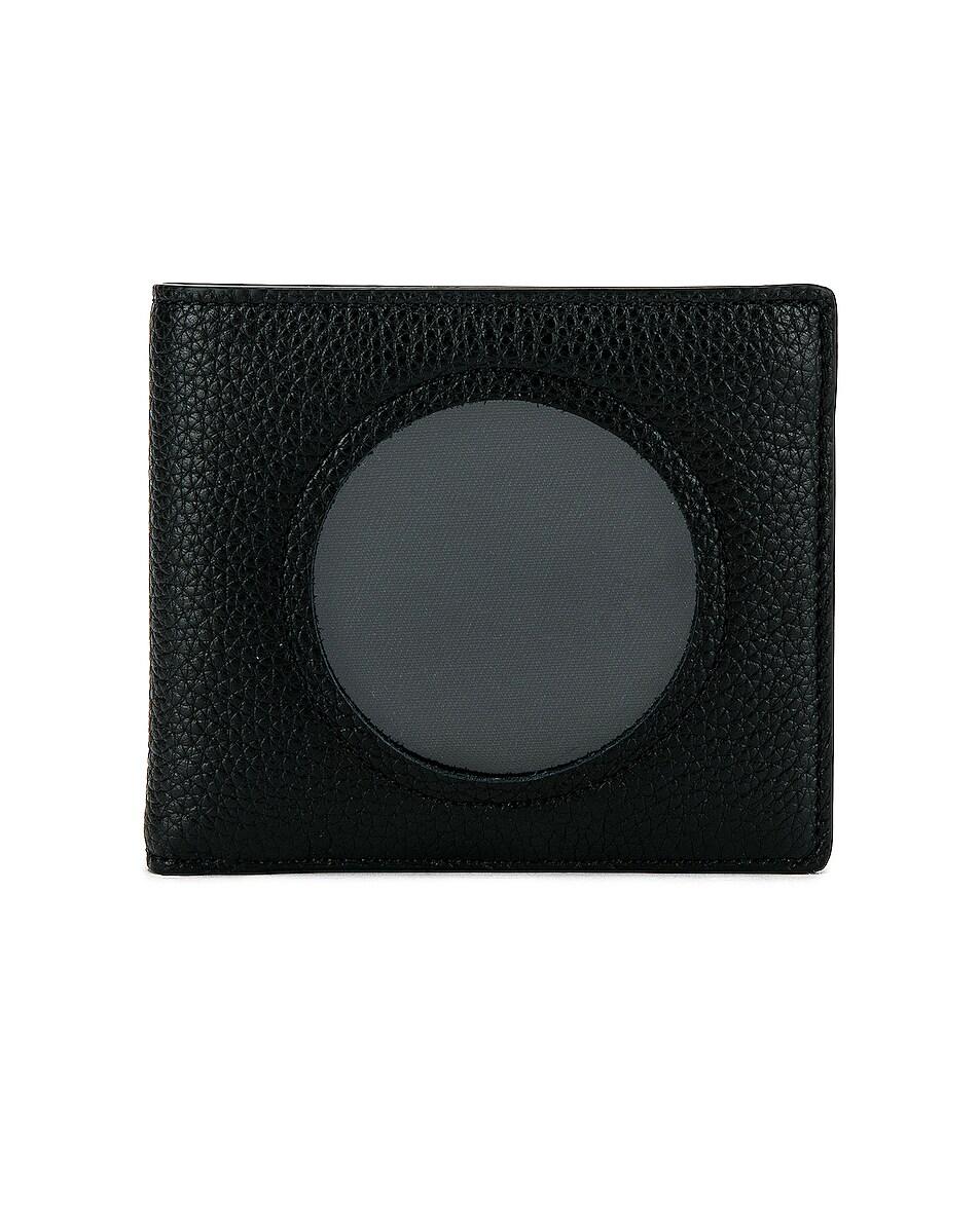 Image 1 of Maison Margiela Wallet in Black & Transparent