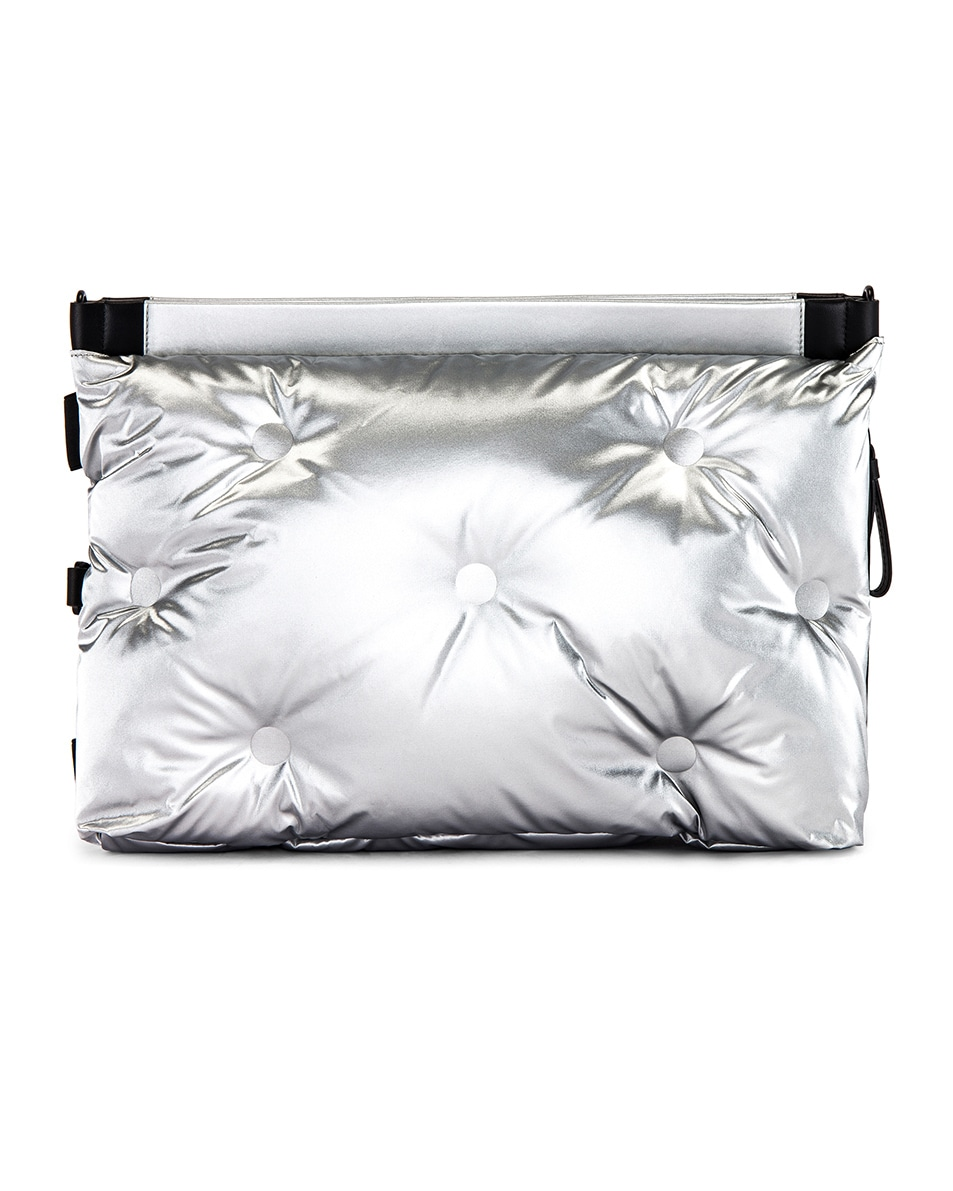 Image 2 of Maison Margiela Two-way Glam Slam Bag in Silver