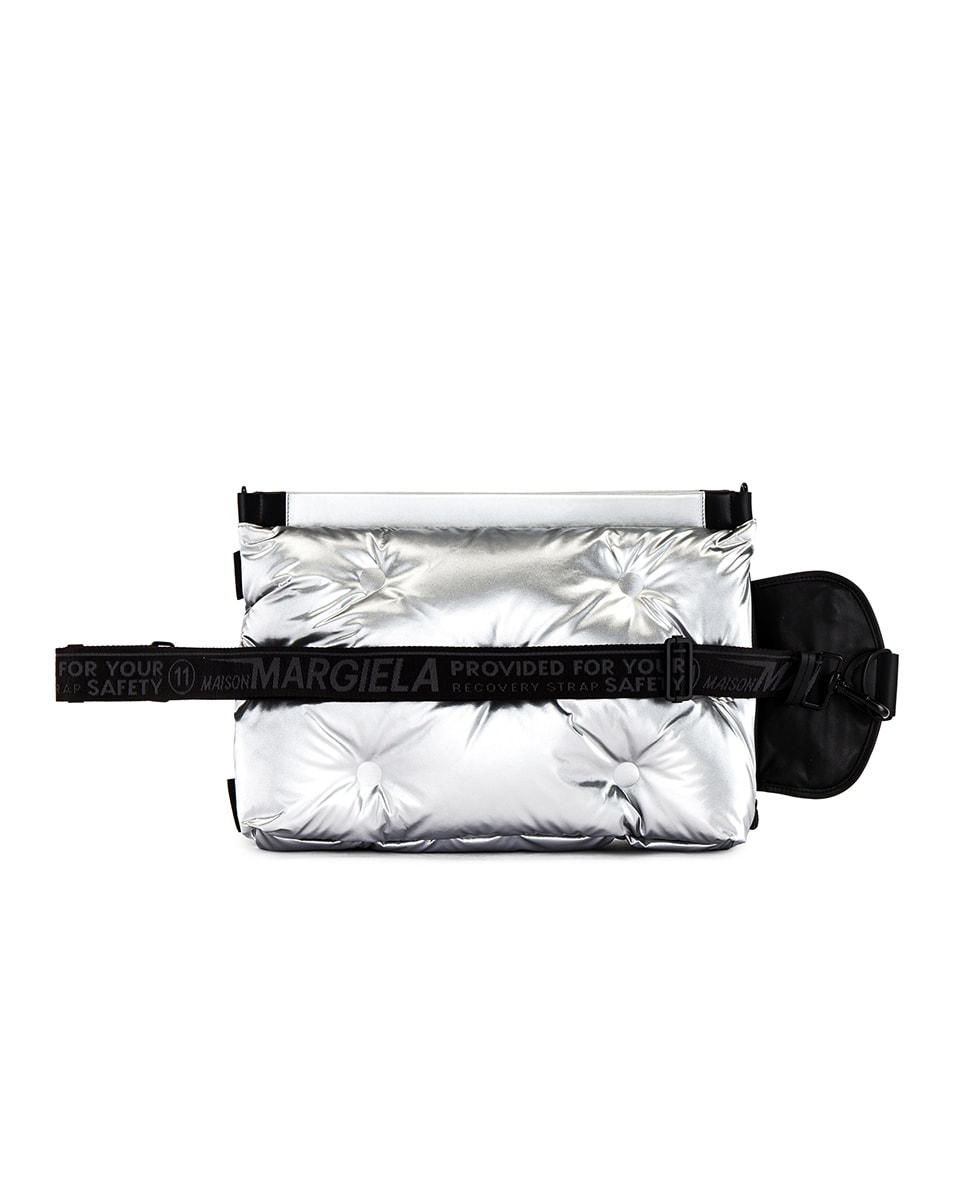 Image 4 of Maison Margiela Two-way Glam Slam Bag in Silver