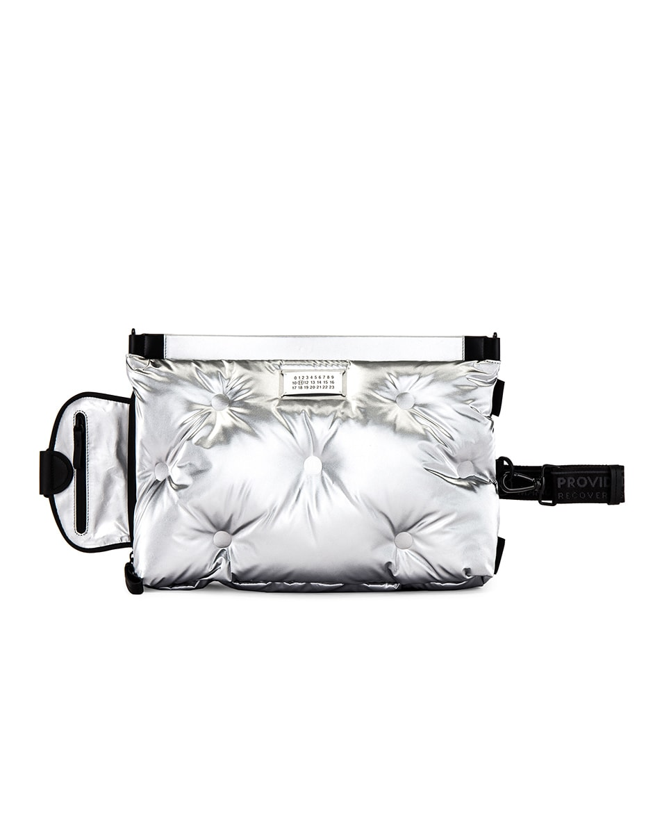 Image 5 of Maison Margiela Two-way Glam Slam Bag in Silver