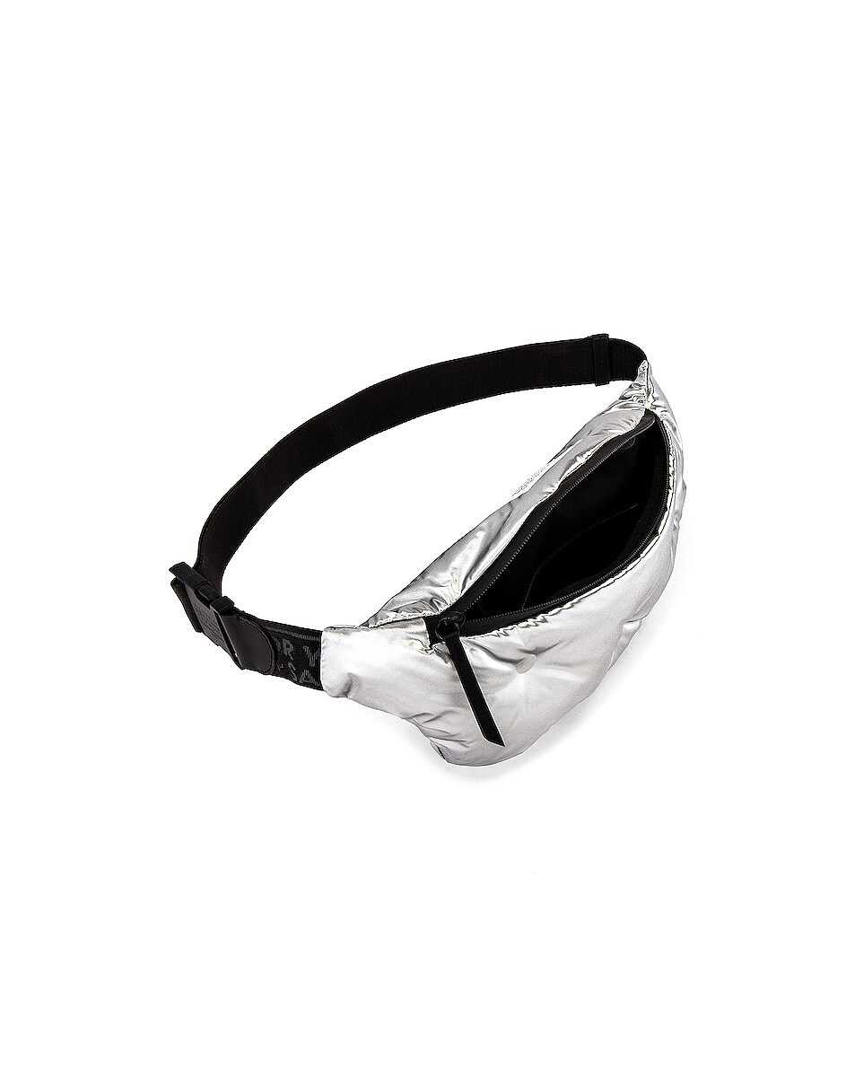 Image 4 of Maison Margiela Fanny Pack in Silver