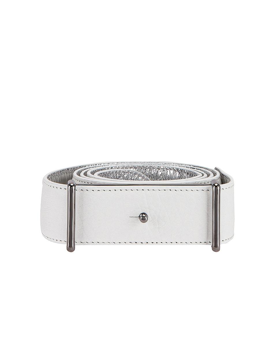 Image 1 of Maison Margiela Number Belt in White
