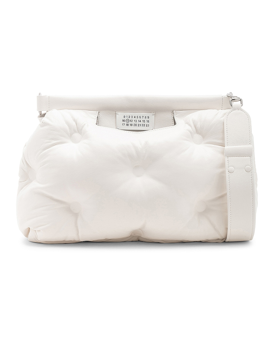 Image 1 of Maison Margiela Glam Slam Shoulder Bag in White