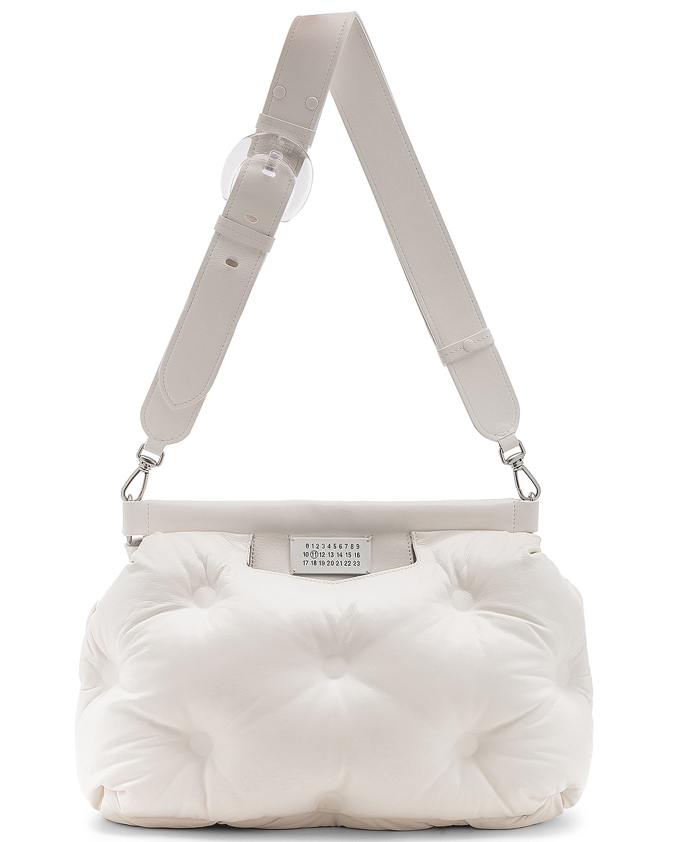 Image 6 of Maison Margiela Glam Slam Shoulder Bag in White
