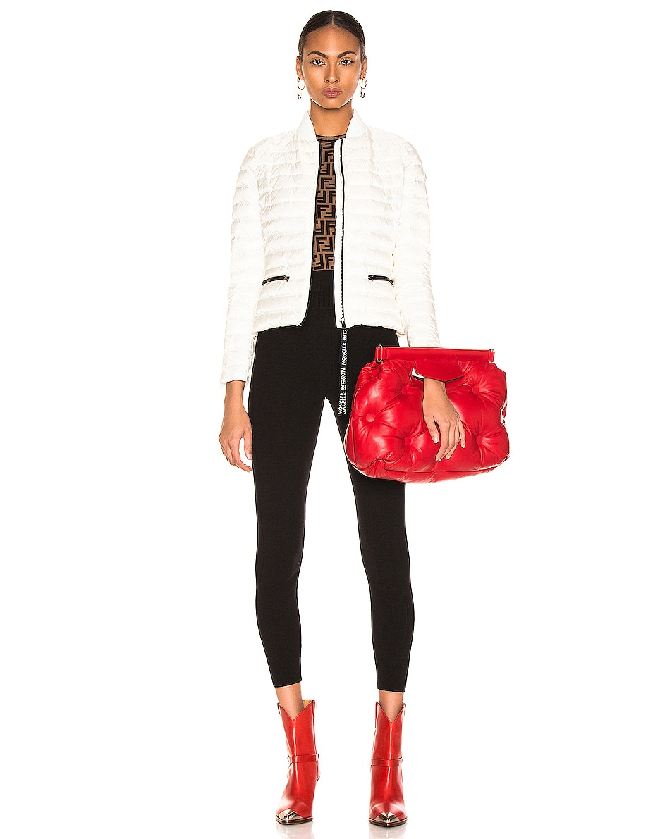 Image 2 of Maison Margiela Glam Slam Shoulder Bag in Haute Red