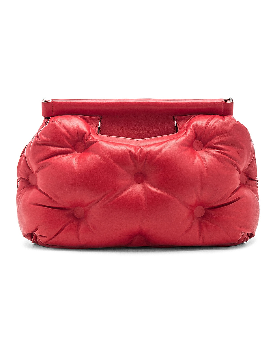 Image 3 of Maison Margiela Glam Slam Shoulder Bag in Haute Red