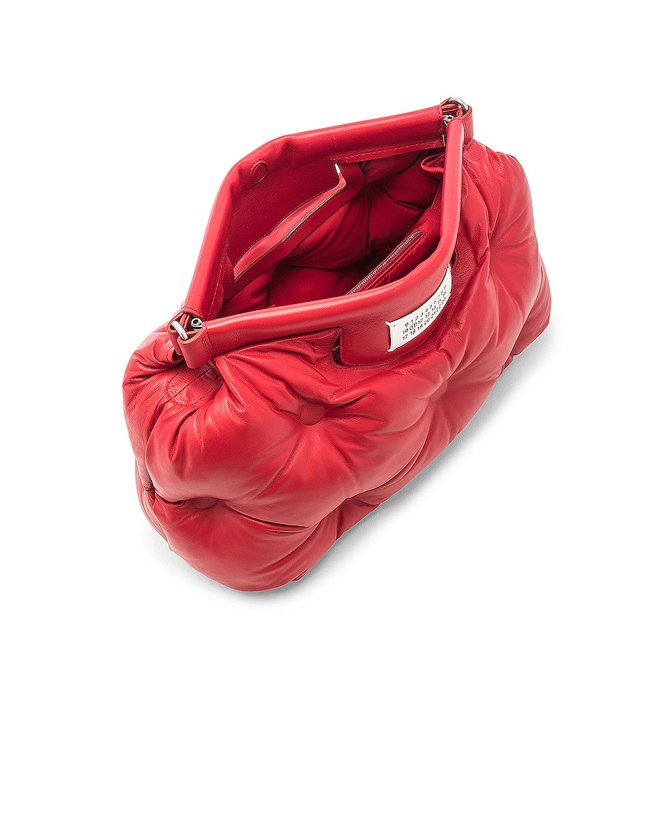 Image 5 of Maison Margiela Glam Slam Shoulder Bag in Haute Red